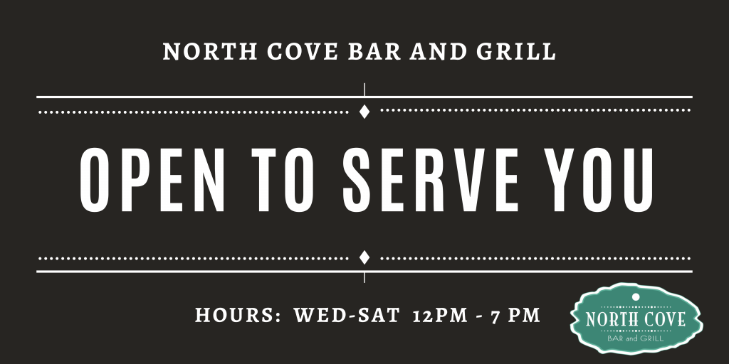 north cove bar and grill.png open banner